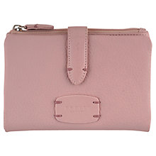 Buy Radley Cirencester Medium Tab Leather Purse, Pale Pink Online at johnlewis.com