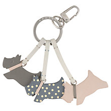 Buy Radley On The Run Leather Keyring Online at johnlewis.com