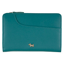 Buy Radley Pocket Bag SLGS Medium Zip Leather Purse, Blue Online at johnlewis.com