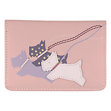 Buy Radley On The Run Small Leather Credit Card Holder, Pale Pink Online at johnlewis.com