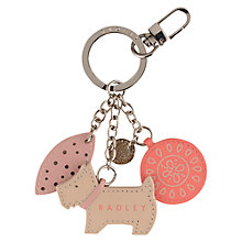 Buy Radley Highgate Leather Keyring Online at johnlewis.com