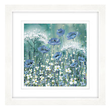 Buy Catherine Stephenson - Lavender Daisies Framed Print, 57 x 57cm Online at johnlewis.com