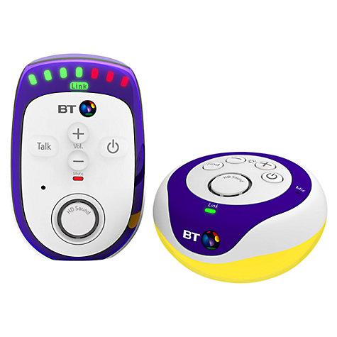 buy bt digital baby monitor 300 john lewis. Black Bedroom Furniture Sets. Home Design Ideas
