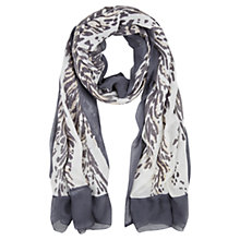 Buy Mint Velvet Lucy Print Scarf, Multi Online at johnlewis.com