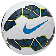 Buy Nike Strike Premier League Football, Size 5, Black/White Online at johnlewis.com