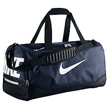 Buy Nike Team Training Max Air Bag, M, Navy Online at johnlewis.com