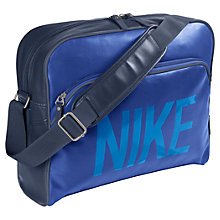 Buy Nike Heritage AD Track Bag, Blue Online at johnlewis.com