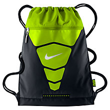 Buy Nike Vapor Gymsack, Black/Vapor Online at johnlewis.com
