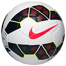 Buy Nike Strike Football, Size 5, White/Black Online at johnlewis.com