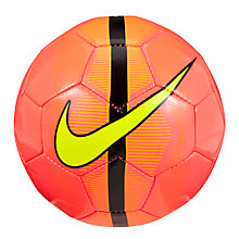 Buy Nike Mercurial Skills Football, Size 1, Orange Online at johnlewis.com