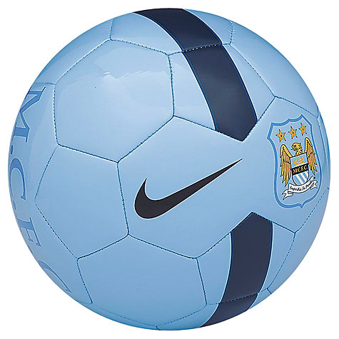 Buy Nike Manchester City Supporters Football, Size 5 Online at johnlewis.com