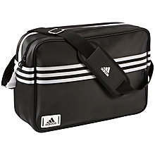 Buy Adidas Enamel Messenger Bag Online at johnlewis.com