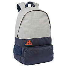 Buy Adidas DER Backpack, Medium Grey Heather Online at johnlewis.com