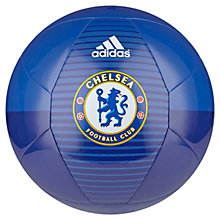 Buy Adidas Chelsea FC Ball, Blue, Size 5 Online at johnlewis.com