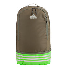 Buy Adidas Active Life Running Backpack, Brown/Green Online at johnlewis.com