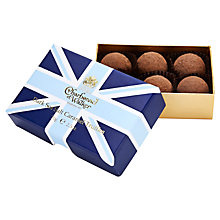 Buy Charbonnel et Walker Union Jack Dark Sea Salt Caramel Truffles, 70g Online at johnlewis.com