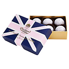 Buy Charbonnel et Walker	Union Jack Pink Marc de Champagne Truffles, 65g Online at johnlewis.com