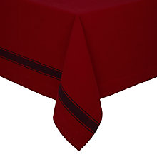 Buy Lexington Stripe Tablecloth, Red/Navy Online at johnlewis.com