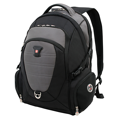 "Image of Wenger 17"" Laptop/Tablet Backpack, Black"