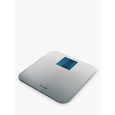 Salter Silver Glitter Digital Bathroom Scale