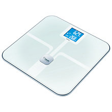 Buy Beurer ITO Advance Bathroom Analyser Scale, White Online at johnlewis.com