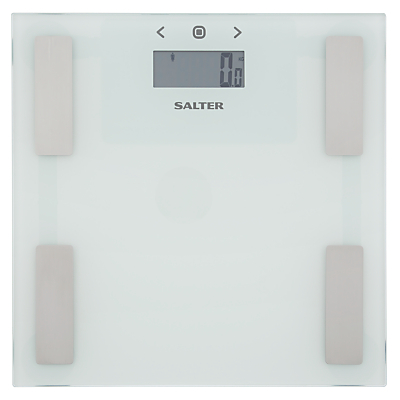 Salter 9150 Analyser Bathroom Scale, White