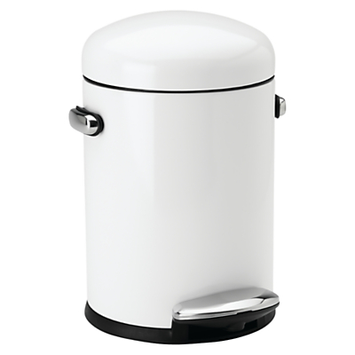 simplehuman Retro Bathroom Bin, 4.5L