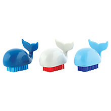 Buy John Lewis Whale Novelty Nail Brush, Assorted Colours Online at johnlewis.com