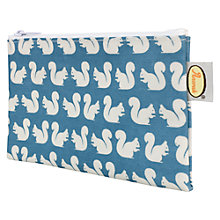 Buy Anorak Squirrels Flat Washbag Online at johnlewis.com