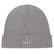 Buy Gant Cotton Beanie, One Size Online at johnlewis.com