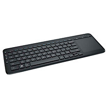 Buy Microsoft All-in-One Wireless Media Keyboard Online at johnlewis.com