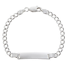 Buy Tales From The Earth ID Bracelet, Oblong Online at johnlewis.com