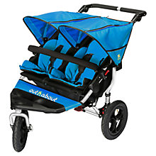 Buy Out 'N' About Nipper 360 Double V4 Pushchair, Lagoon Blue Online at johnlewis.com
