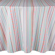 Buy John Lewis Country Stripe Round Tablecloth, Dia.180cm Online at johnlewis.com