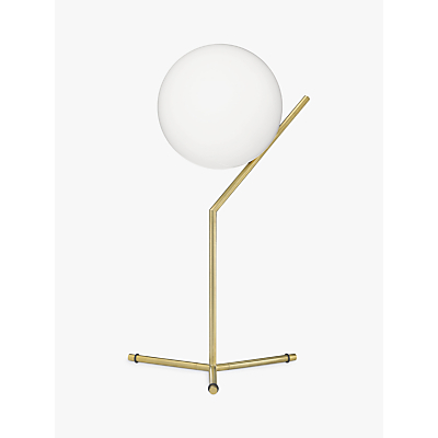 Flos IC Lights 200 Table Lamp, Brushed Brass