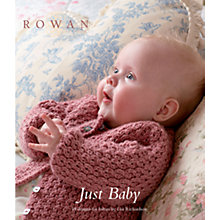 Buy Rowan Just Baby by Lisa Richardson Knitting Book Online at johnlewis.com