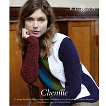 Buy Rowan Chenille Knitting Patterns Booklet Online at johnlewis.com