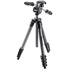 Buy Manfrotto Compact Advanced Tripod Online at johnlewis.com