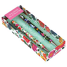 Buy Galison Floral Pen and Pencil, Multi Online at johnlewis.com