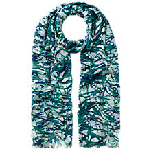 Buy Whistles Mimosa Print Scarf, Multi Online at johnlewis.com