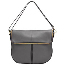 Buy Whistles Duffy Zip Leather Satchel Bag Online at johnlewis.com
