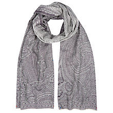 Buy Kaliko Maharaja Scarf, Dark Purple Online at johnlewis.com