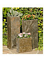 Foras Set of 3 Surmi Planters, Natural Slate