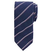 Buy John Lewis Classic Striped Tie Online at johnlewis.com