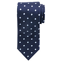 Buy John Lewis Dot Twill Tie Online at johnlewis.com