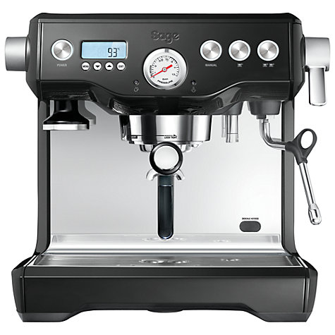 Buy Sage by Heston Blumenthal the Dual Boiler™ Espresso Coffee Machine Online at johnlewis.com