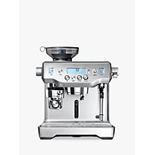 Buy Sage By Heston Blumenthal The Oracle™ Espresso Coffee Machine, Silver Online at johnlewis.com