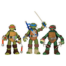 Buy Teenage Mutant Ninja Turtles Talking Figure, Assorted Online at johnlewis.com