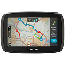 Buy TomTom GO 40 GPS Navigation System, Free Lifetime Western Europe Maps Online at johnlewis.com