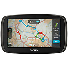 Buy TomTom GO 60 GPS Navigation System, Free Lifetime Western Europe Maps Online at johnlewis.com